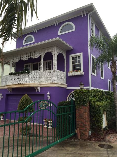 purple house mt dora florida  purple home
