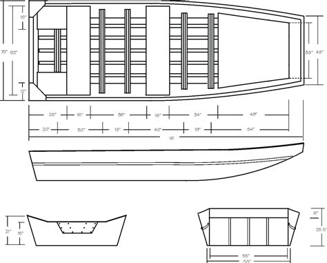 jon boat floor plans free wooden jon boat building plans