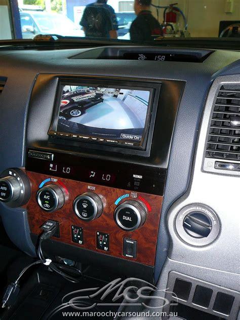 Toyota Navigation Toyota Tundra Alpine Gps Navigation Upgrade Maroochy Car