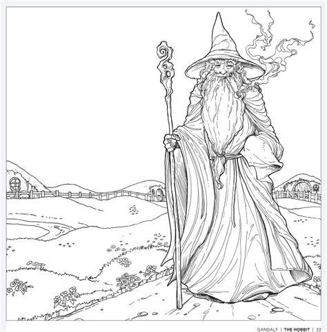 lord of the rings coloring book tolkien s world a colouring book free pattern