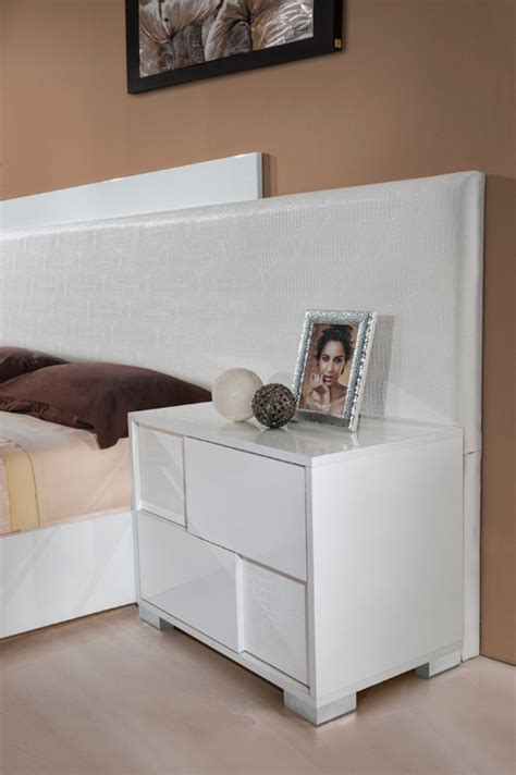 monza bedroom furniture modrest monza italian modern white bedroom set modern
