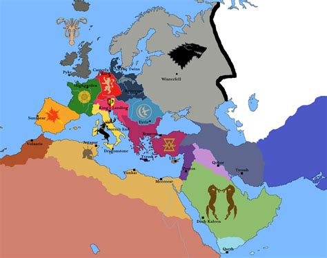 the european game the game of thrones in europe by josgui on