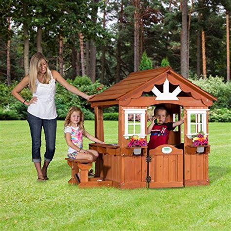 backyard discovery scenic all cedar playhouse backyard discovery scenic all cedar wood playhouse toys