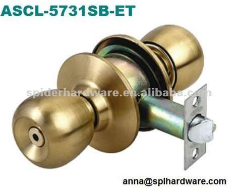 one side knob one side key lock cylinder knob door lock