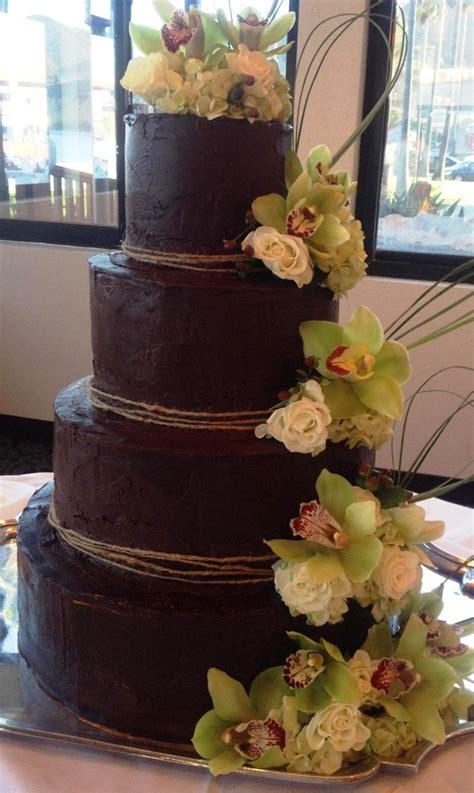 Hochzeitstorte Schokolade by Aimeejo Desserts Chocolate Ganache Wedding Cake