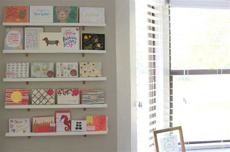 how to make presentation cards diy greeting card display wall for your office