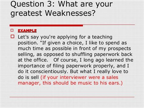 Weakness Question For Mba by 3 Weaknesses Exles Colomb Christopherbathum Co