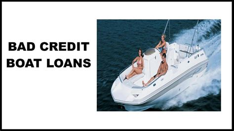 bad credit bass boat loans bad credit boat loans direct source to lenders who