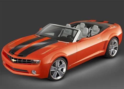 chevrolet camaro convertible concept pictures