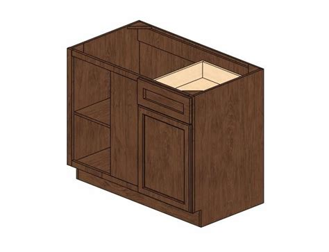 48 inch base cabinet bblc45 48 42 quot w wave hill blind base corner cabinet
