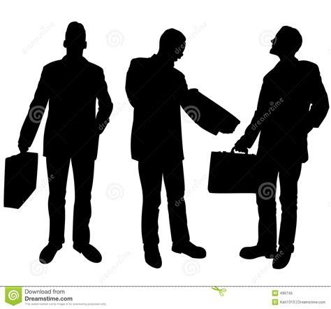 imagenes libres negocios siluetas de los hombres de negocios stock de ilustraci 243 n