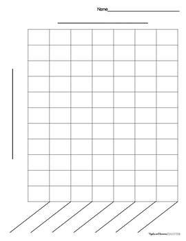 template for bar graph printable bar graph templates by apples and bananas education tpt
