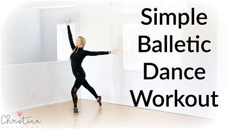 tutorial dance simple simple balletic dance workout dance fitness tutorial