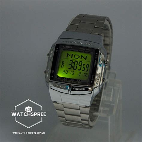 Jam Tangan Casio Db 360 Original by Jual Jam Tangan Casio Db 360 1adf Data Bank Original