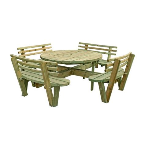 buy picnic bench buy round picnic tables at mick george