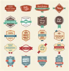 100 free vector vintage badges stickers amp stamps in ai
