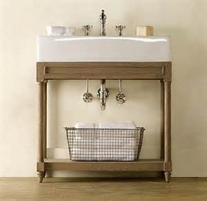 console bathroom sinks
