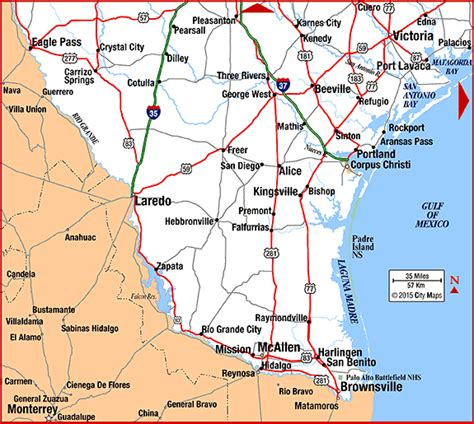 cities in south texas map highway map of south texas aaccessmaps