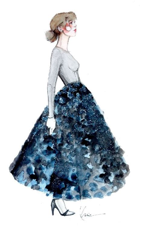 fashion illustration on black paper fashion illustration skirt color pop skirt fixation