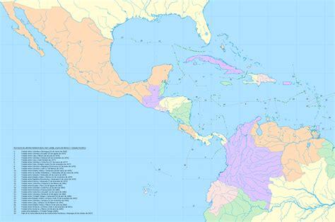 imagenes satelitales mar caribe mapa golfo de mexico