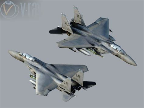 Painting F 15 Model by 3d Model Eagle F15 Cgtrader