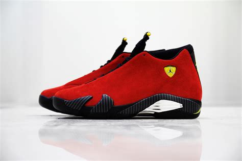 Jordan 14 Ferrari by Air Jordan 14 Retro Ferrari Release Info The Source