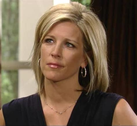 carly from general hospital hair general hospital wright hairstyles laura wright hair