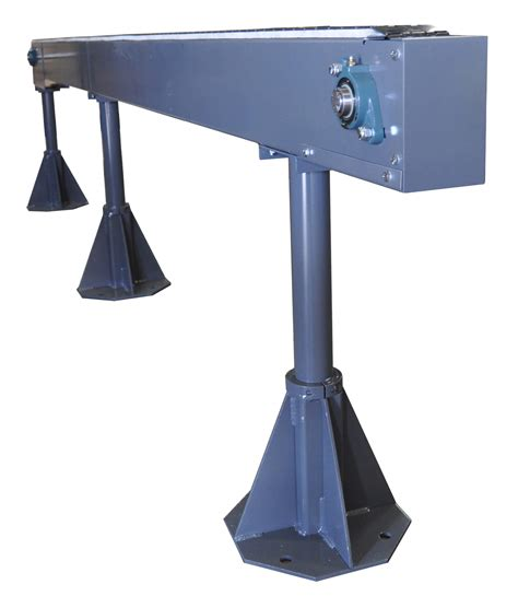 Pedestal Support Model 460 3 Roll Trough Conveyors Bulk Handling