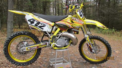 2001 Suzuki Rm250 by 2001 Rm 250 Ajl12 Motocross Pictures Vital Mx