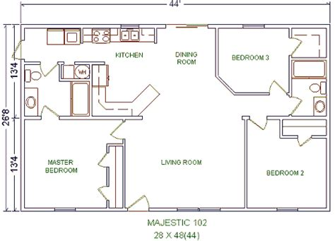 Castle Housing Homes From Gary S Homes Everett Pennsylvania 28x40 House Plans
