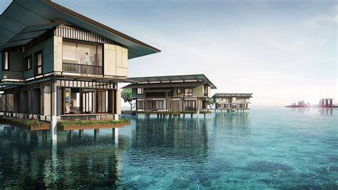 sleep centre jakarta 9 water villas in indonesia for a hidden paradise getaway
