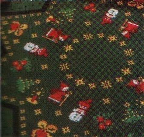 mini mantel navidad a punto de cruz youtube punto de cruz gratis mantel de minis navide 241 os sencillo