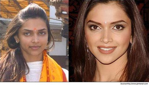 bollywood heroines with and without makeup bollywood actresses with and without makeup