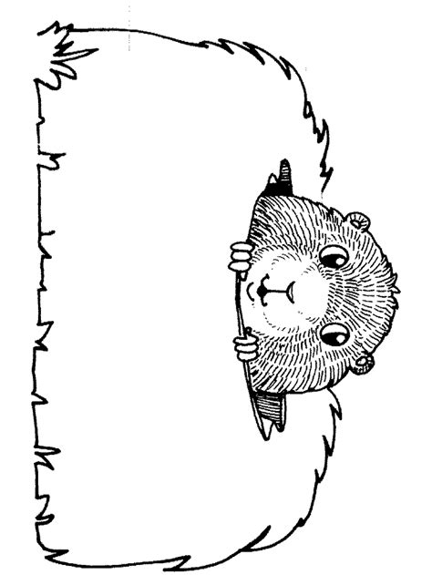 free coloring pages of hog