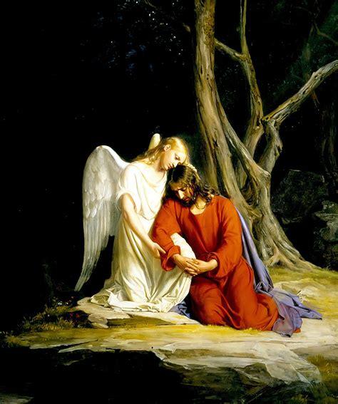 In The Garden Of Gethsemane by File Gethsemane Carl Bloch Jpg Wikimedia Commons