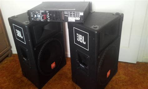Roughneck Light Blue Denim Dj38 1 jbl speakers qsc and extras northern nj usa techtalk speaker building audio