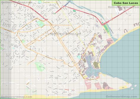 map of united states and cabo san lucas mexico large detailed map of cabo san lucas