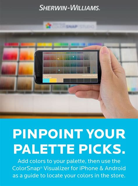 sherwin williams paint store application 188 best images about colorsnap system for painting on