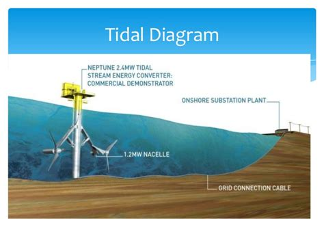 tidal barrage diagram tidal and wave power