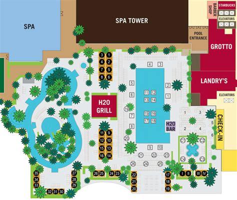 golden nugget hotel layout map pool cabanas golden nugget lake charles