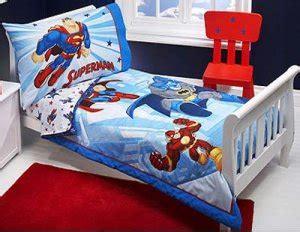 superman toddler bed dc super friends toddler bedding 4 pc set new