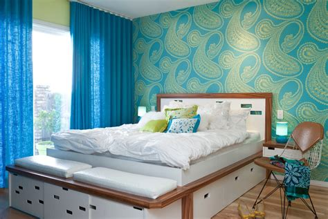 teenage wallpaper bedroom girls bedroom ideas blue and green fresh bedrooms decor