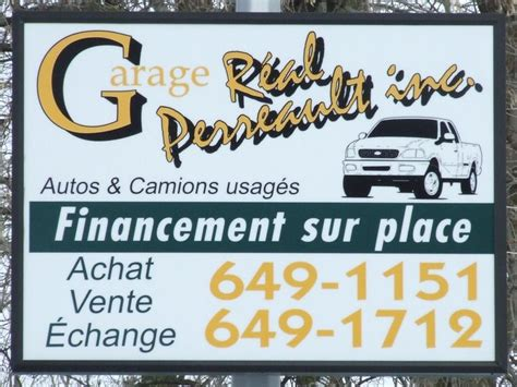 garage perreault r 233 al sainte julie qc ourbis