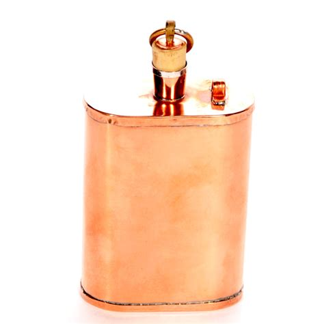 copper whiskey flask onewed