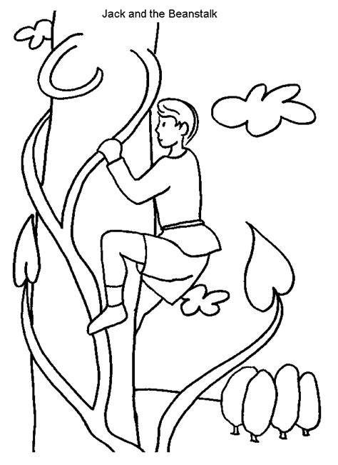 Jack And The Beanstalk Coloring Pages Coloring Pages And The Beanstalk Coloring Page