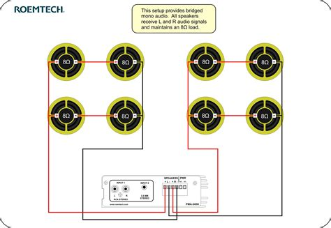 classroom audio systems speaker wiring diagram