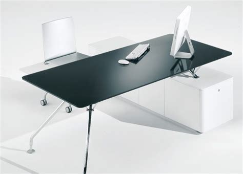 Glass Desk Office Furniture Glass Office Desk Furniture Homefurniture Org