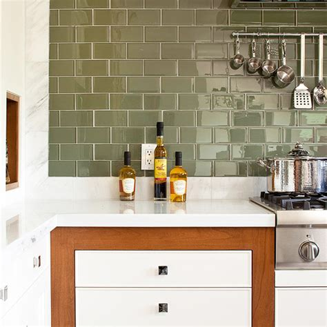 kitchen backsplash subway tiles stagetecture featured in bhg s kitchen bath makeovers