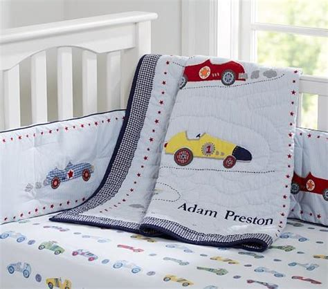 Crib Bedding Cars Roadster Nursery Bedding Pottery Barn