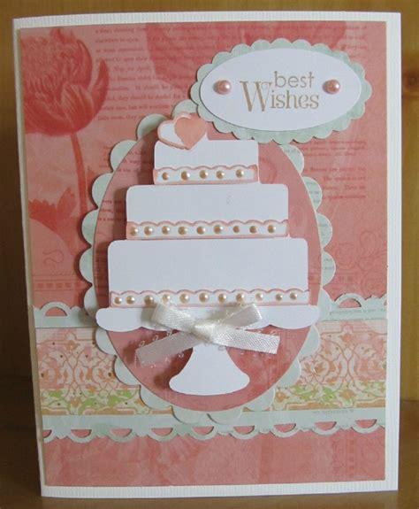 Handmade Wedding Crafts - handmade wedding card made with the cricut p s i